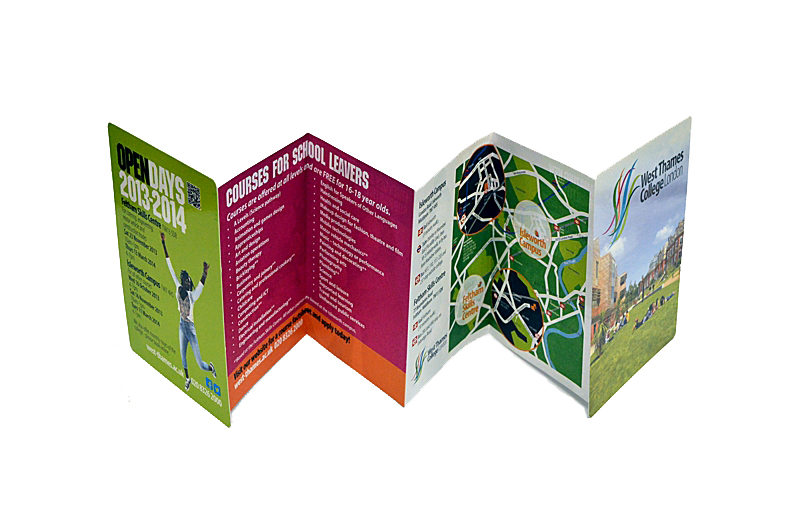 Concertina cards competitively priced uk printing concertina cards reheart Choice Image